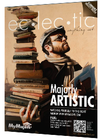 Eclectic Magazine Cover