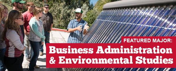 Environment & Sustainability – Business Administration: Major Monday