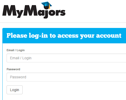 Counselor and Advisor Login