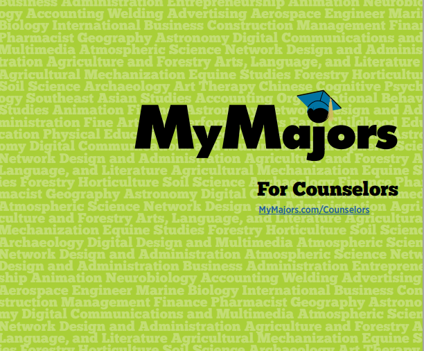 MyMajors Brochure for Counselors, Principals and School Districts