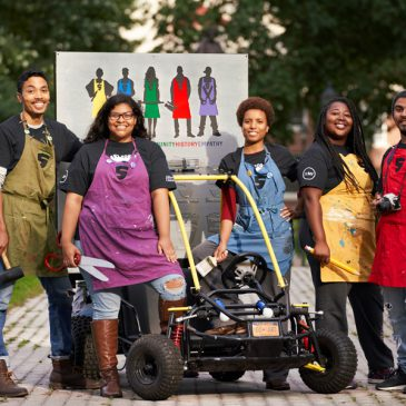 Alumni Profiles: The Art Force 5, Alfred University