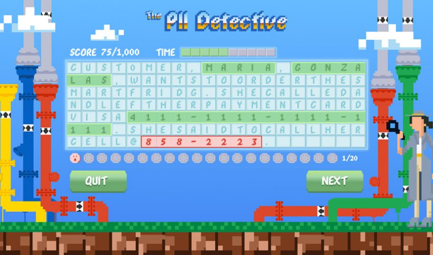 Google Data Protection Game