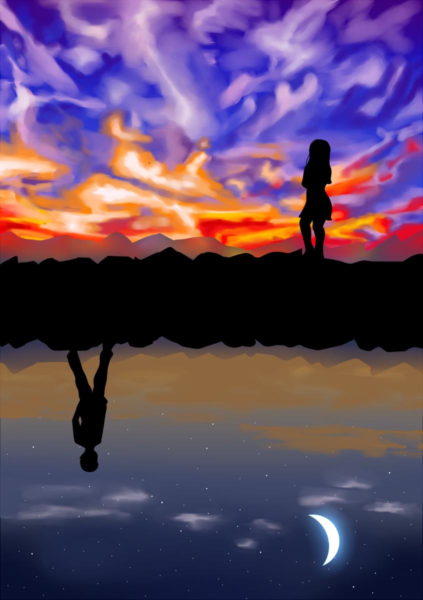 On The Evening Sky