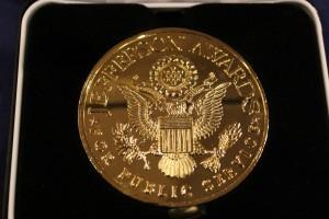 National Gold Medal for Public Service