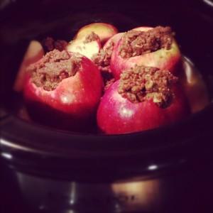 Crock-Pot Apples (prep)