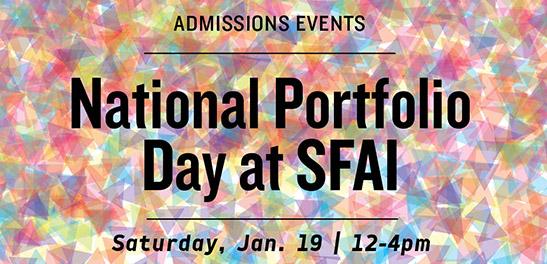National Portfolio Day Jan. 19 Set at San Francisco Art Institute