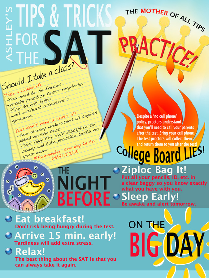Ashley ACT and SAT Tips