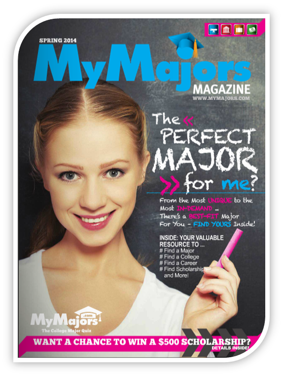 MyMajors Spring 2014 Scholarships