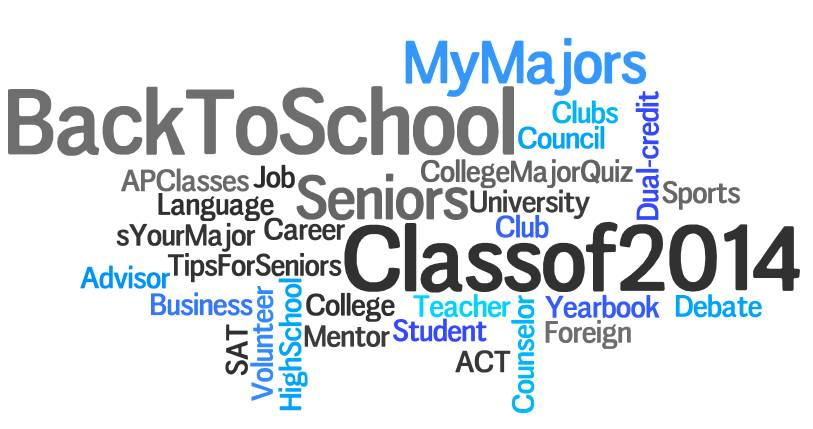 MyMajors Back to School Wordle