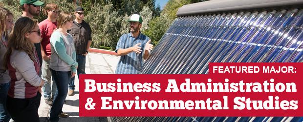 Environment & Sustainability – Business Administration #MajorMonday