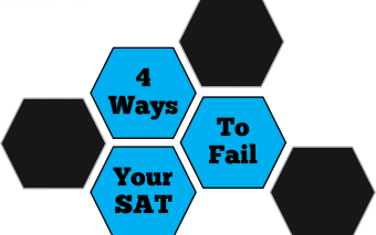 4 Ways to Fail Your SAT Before You Even Begin