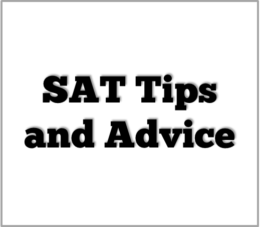 SAT Advice and Planning for a Career