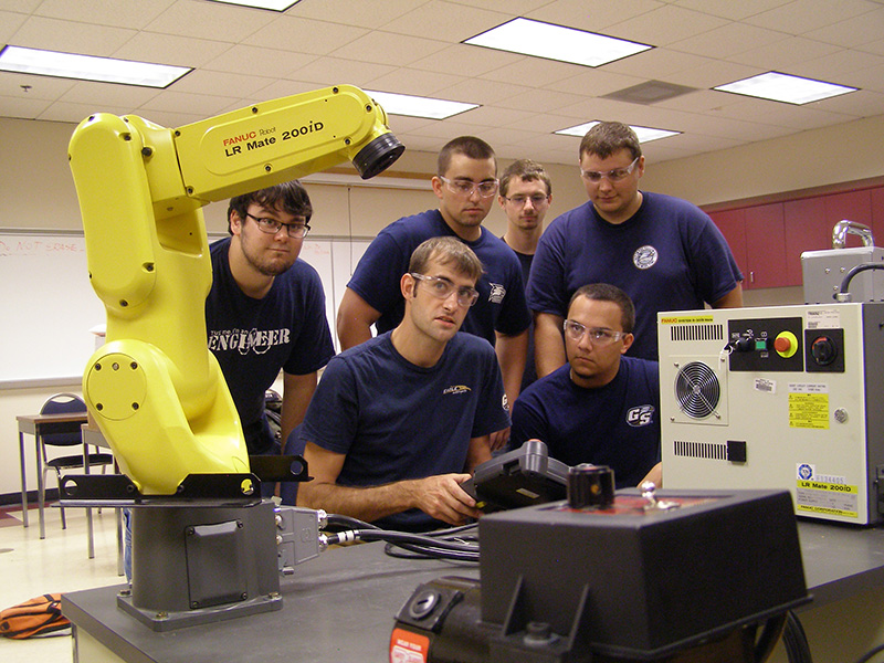 Students in the Mechanical Engineering program at Georgia Southern University